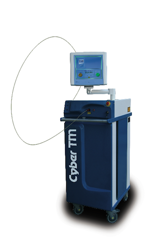 The Cyber TM Thulium Laser delivers up to 180W of precisely delivered energy
